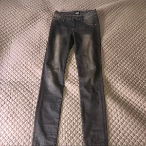 Hudson Kids Grey Skinny Jeans In Size 16